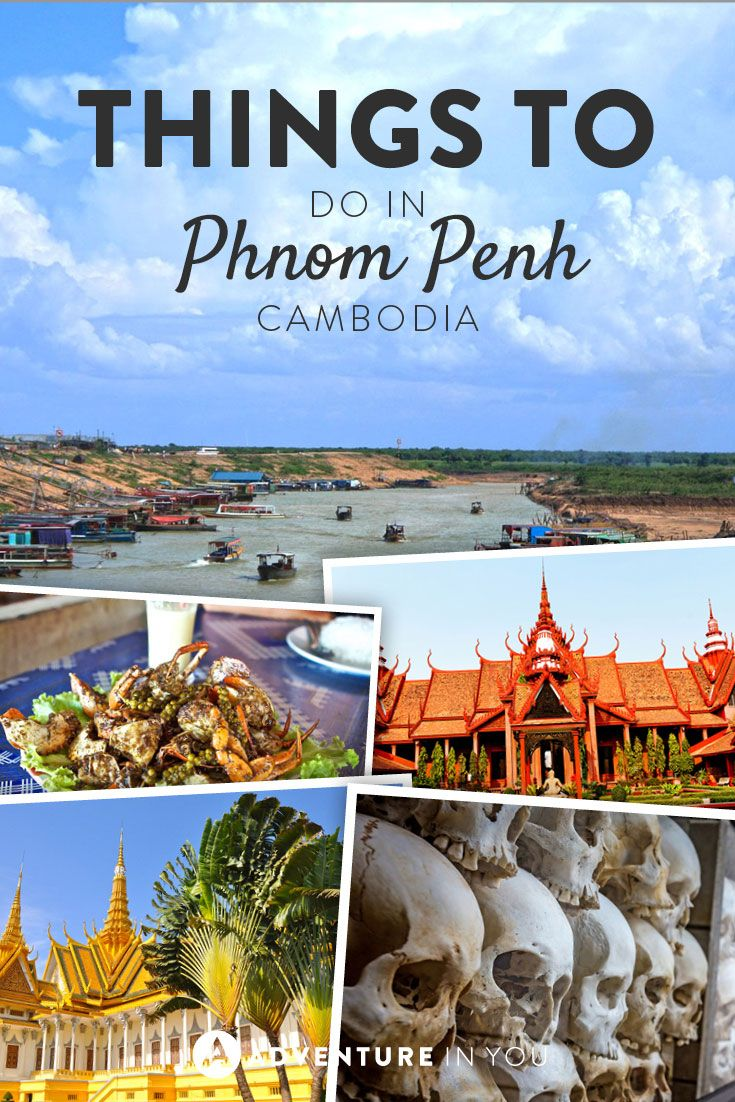 Phnom Penh Cambodia | Looking for things to do while in Phnom Penh? Check out our list and don't miss out on these activities while you're there.