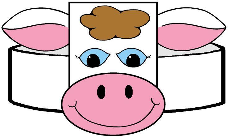 Stupendous image inside printable cow hat