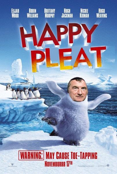 Happy Pleat, starring David Pleat