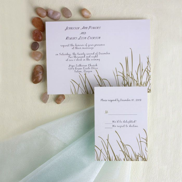 invitation message for wedding in hindi%0A Invitation Store Green Grass Wedding Invitations  It cannot remain true to  its name