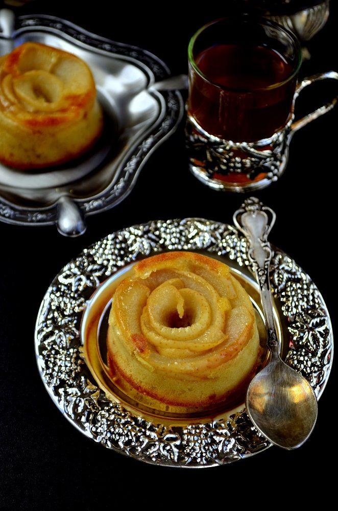 Карамельные кексы с грушей «Для Аллы»  рецепт с фотографиями