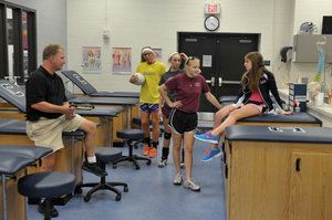 Husband-wife Clover High School Athletic Trainers embrace improved facilities