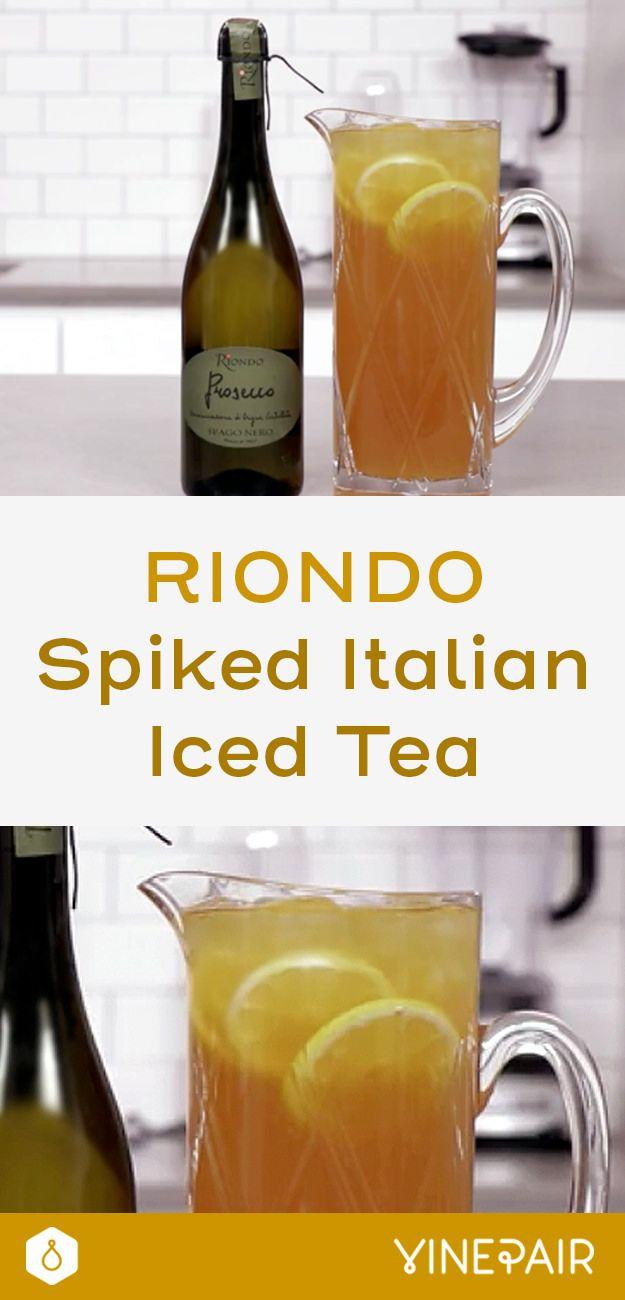 The Riondo Spiked Italian Iced Tea