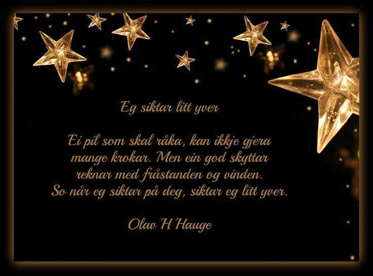 OLAV H. HAUGE DIKT