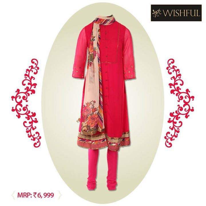 Anarkalis are the perfect #fusion of traditions and latest trends.   Showcasing our newest range of #Wishful collection with some exquisite #Anarkali designs! Do check them out at our nearest #W store   Own it here : http://bit.ly/wkurta