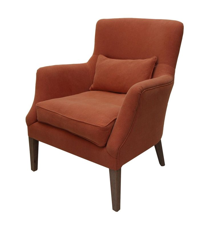 Carson Salon Chair Old Red