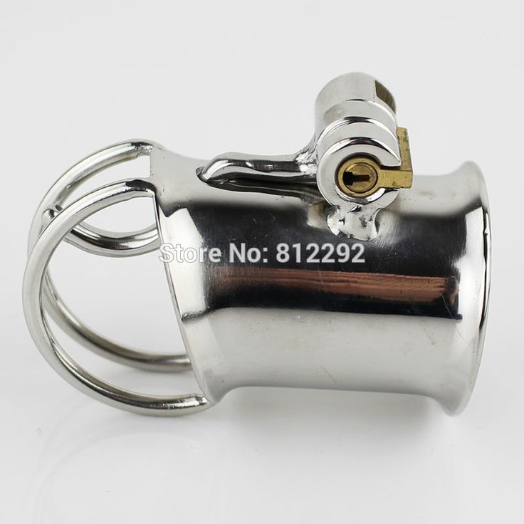 22.00$  Watch now - http://alirqn.shopchina.info/go.php?t=32801730860 - New Arrival PA Lock Male Chastity Cage Latest Design Stainless Steel Chastity Device Bondage Sex Toys For Men Cock Ring 22.00$ #aliexpress