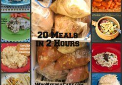 20 Freezer Meals in 2 Hours: Crockpot Meals, Recipe, Crock Pots, Freezers Cooking, Freezers Meals, Slow Cooker, Cooker Freezers, 20 Meals, 20 Freezers