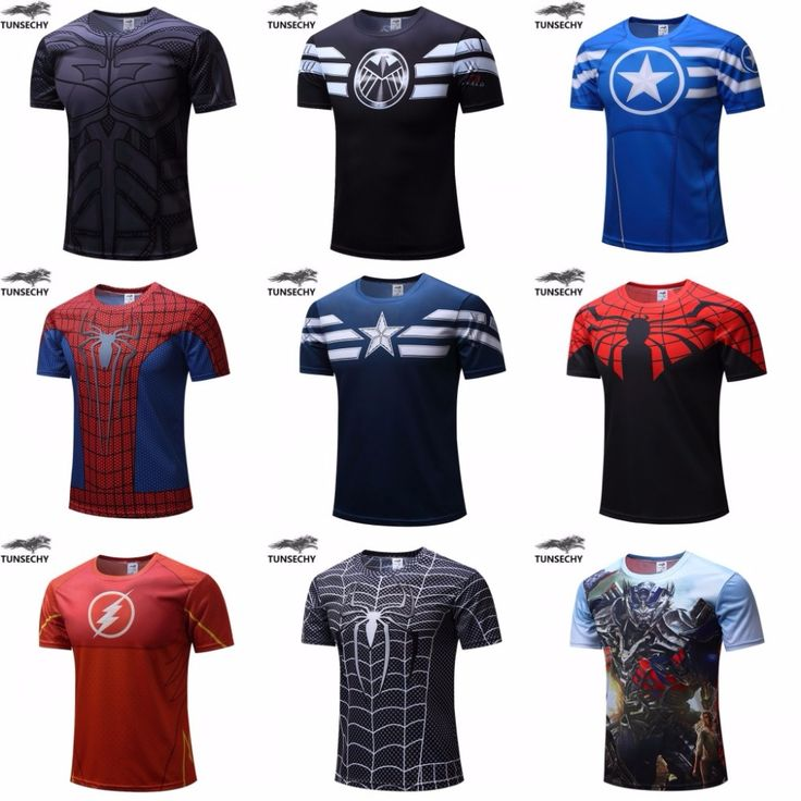 Superhero fitness tee shirt     Tag a friend who would love this!     FREE Shipping Worldwide | Brunei's largest e-commerce site.    Get it here ---> https://mybruneistore.com/free-shipping-2016-t-shirt-supermanbatmanspider-mancaptain-america-hulkiron-man-t-shirt-men-fitness-shirts-men-t-shirts/