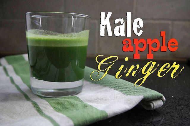 Kale Apple Ginger