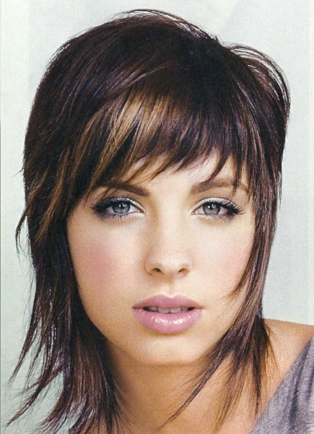 Рваная челка на короткие волосы ::: onelady.ru ::: #hair #hairs #hairstyle…