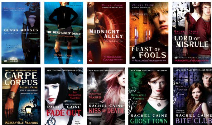 If you haven't added the Morganville Vampires to your reading list, you MUST!! Currently on Book 4!