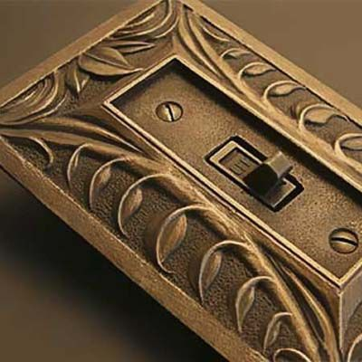 grasp your light switches stand out with decorative plates