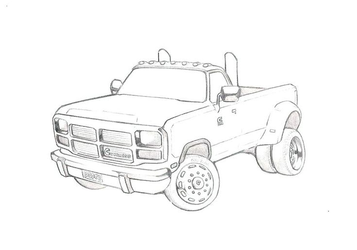 dodge truck coloring pages dodge ram coloring pages free