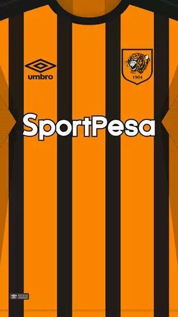 Hull City 17-18 kit home