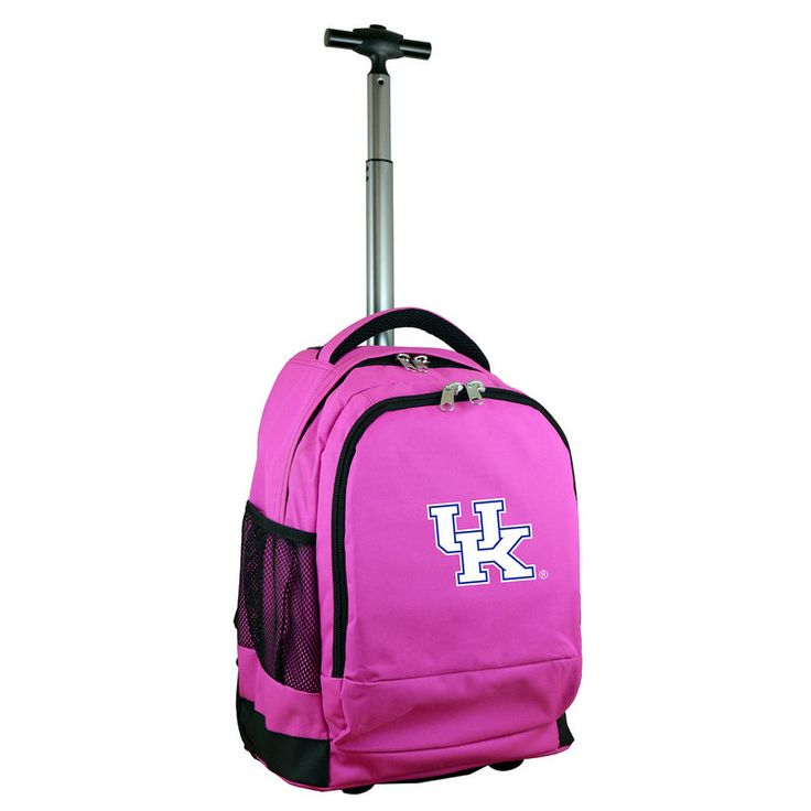 Kentucky Wildcats 19'' Premium Wheeled Backpack - Pink