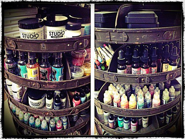 tim holtz shares his new treasure love the idea of a