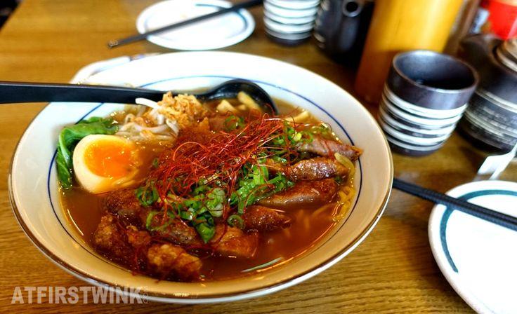 Takumi Düsseldorf Rotterdam April month special Pork rib ramen