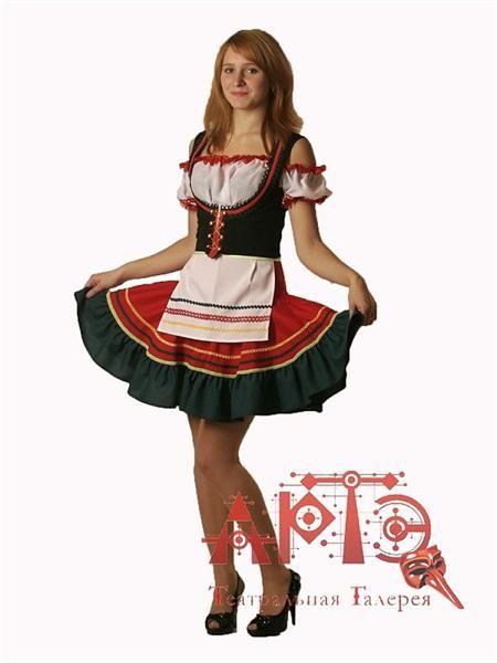 Фото национальных праздничных немецких костюмов