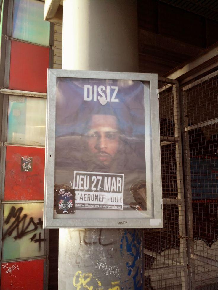 Bientôt le concert de Disiz à Lille !!