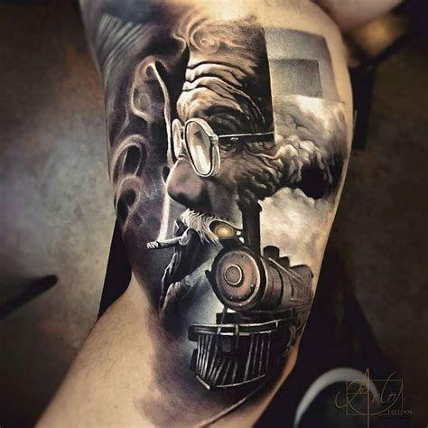 Über 88 erstaunliche 3D-Tattoo-Designs, die Sie sprachlos machen