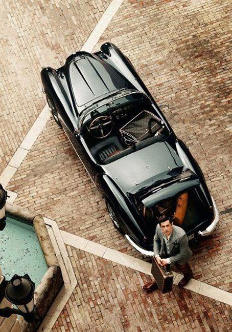 ♂ Black classy car