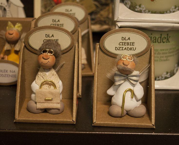 Aniołki dla Babci i Dziadka :)  #babcia #dziadek