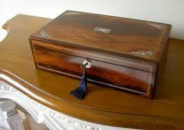 Imágenes Victorianas: Caja escritorio.