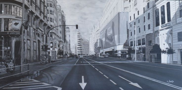 November in Madrid. carlos ferGo. 80 x 40