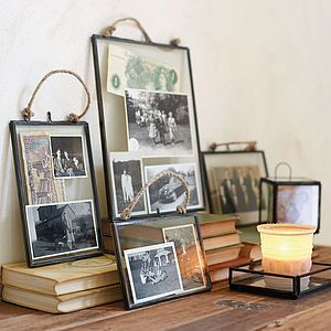 Plain glass frames for my wall - I know they sell these at Oliver Bonas