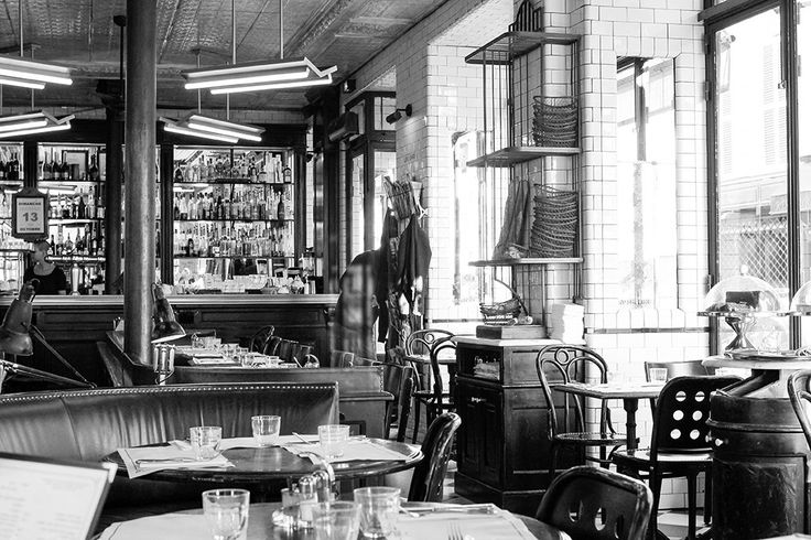 Paris Photography, Chasing Light, Black and White Photography, Cafe St Regis, Ile St Louis, Mornings in Paris, French, Kitchen Wall Art by rebeccaplotnick on Etsy