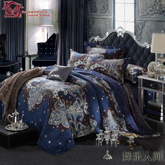 100% Egyptian cotton silver bedding set king size european bedding sets boho edredon bed sheet set luxury boys bedding on Aliexpress.com