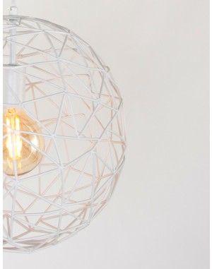 Trendy hanglamp Bronq Izzy wit €40