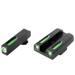TRUGLO Brite-Site TFX Sight Low S&W M&P/Shield/SD Models Green Front and Rear TG13MP1A