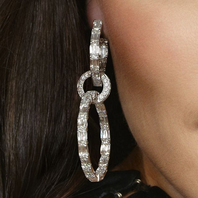 ASHOKA® Diamond Cirque Hoop Earrings by William Goldberg