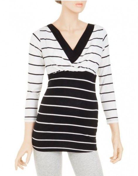 prenatal-primavera-estate-2014-t-shirt-righe-black-white