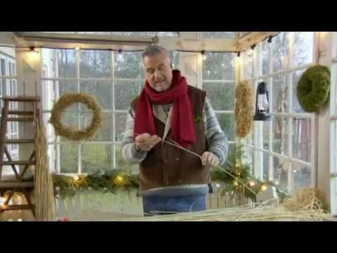 Ernst Kirchsteiger gör julstjärnor och kransar - Jul med Ernst (TV4)