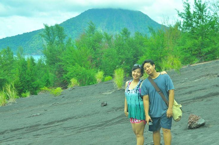 Mountain Krakatau