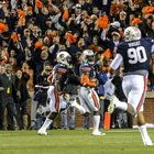 At the 2013 Iron Bowl, Trey Belvin and his father, Charles Belvin, were among those cheering in Jordan-Hare Stadium when Auburn's Chris Davis returned a missed field-goal attempt 109 yards to lift the Tigers to a 34-28 victory over Alabama.