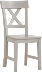 Monaco Pine Chair With Wooden Seat with dimension of  Height: 94 cm, Width:44 cm, Depth:53 cm. Price: Flat Pack @ £ 39.95 & Fully Assembled @ £ 49.95.