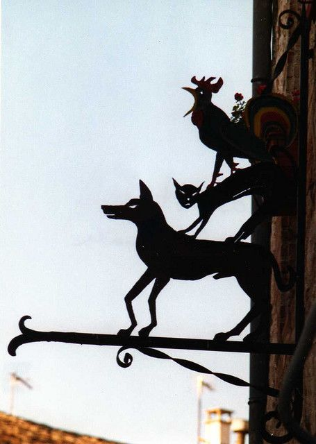 veterinary, Lauzerte, France sign