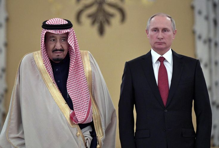 Russian President Vladimir Putin hosted Saudi Arabia's King Salman for talks at the Kremlin on Thursday, cementing a relationship that is pivotal for world oil prices and could decide the outcome of the conflict in Syria.
