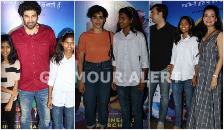 PHOTOS: Aditya, Sanya, Dia Mirza and others attend Special Premiere of Poorna