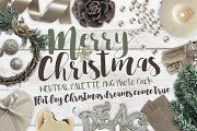 Merry Christmas PNG Photo Pack - Objects - 1