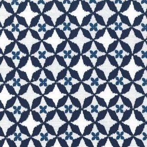 Tissu Michael Miller - Wove It or Weave It - Mineral Wove is Me x10cm : Tissu en coton, collection Wove It or Weave It pour Michael Miller. Motif azulejos, carr