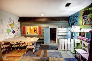 "Playroom ""exterior"" - modern - kids - grand rapids - by Mindi Freng Designs"