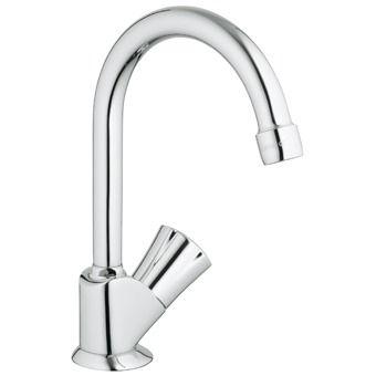 Grohe Costa L toiletkraan hoge draaibare uitloop chroom - 20393001 - Sanitairwinkel.nl 55,58
