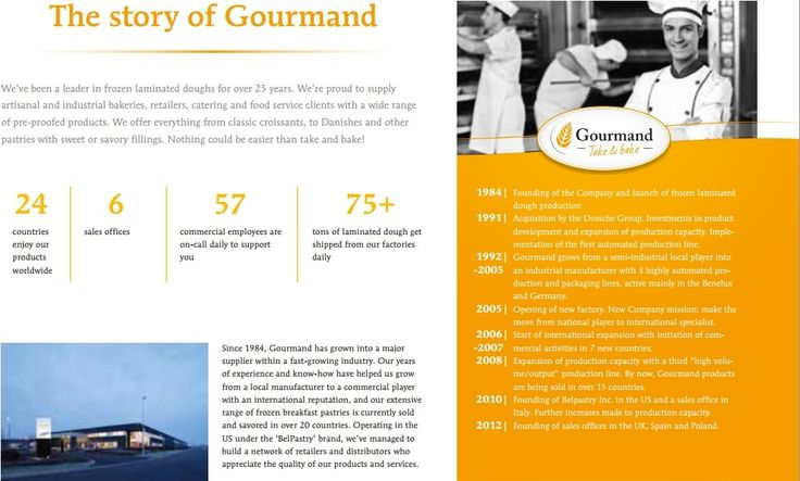The story of Gourmand