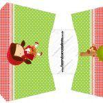 Envelope Fritas Chapeuzinho Vermelho