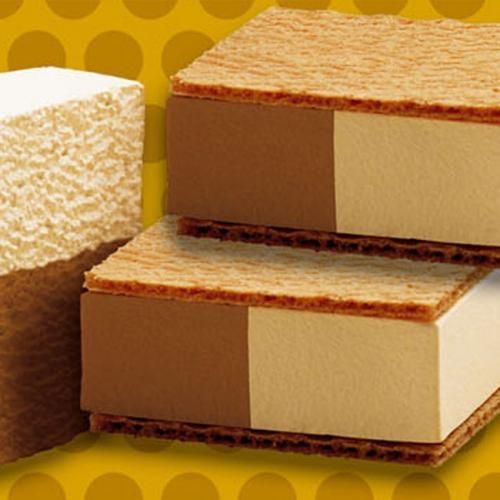 Basic bloque helado vainilla y chocolate